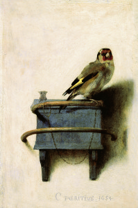 The Goldfinch, by Carel Fabritius (1654)