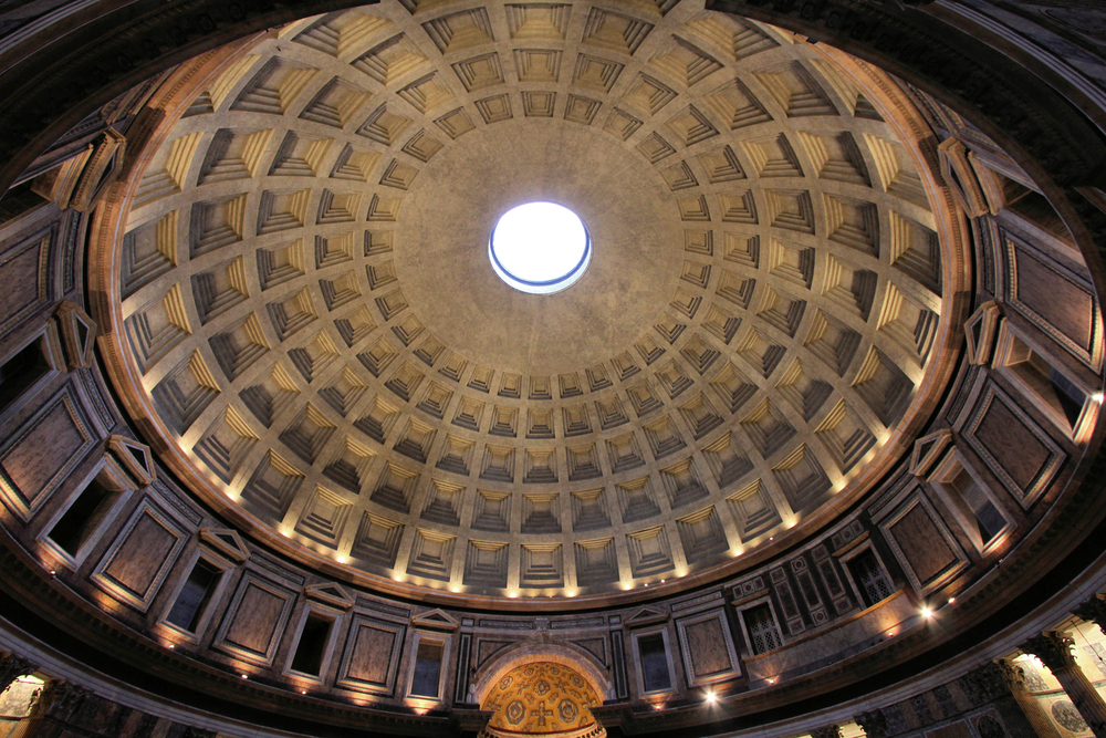 Rome-Italy_-Pantheon-the-third-largest-masonry-dome-in-the-world-with-its-famous-hole-in-the-ceiling_